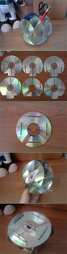 Support for MK-Discs Country Masters . - Young Lady Fashion - Support for MK-Discs Country Masters … – - Cd Crafts, Creative Crafts, Hobbies And Crafts, Diy And Crafts, Arts And Crafts, Paper Crafts, Recycled Cds, Recycled Crafts, Cd Recycle