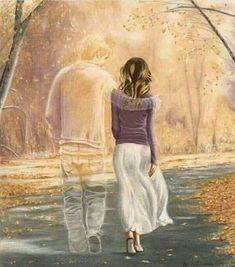 Feelings in Pictures Love Cartoon Couple, Cute Couple Art, Cute Love Cartoons, Love Images, Love Pictures, Sad Art, Love Wallpaper, Love Drawings, Couple Drawings