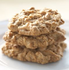 Dad's Famous Butterscotch Oatmeal Cookies are pretty delicious. Tuck into a lunch box or make into an ice cream sandwich with vanilla ice cream for a treat after dinner.