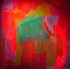 "Saatchi Online Artist: Francesca Spille for 'PUNKTURE'; Acrylic, 2012, Painting ""'Take the power back'"""