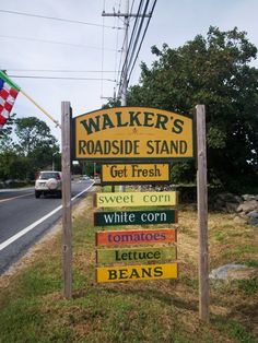Walkers Roadside Stand in Little Compton, RI