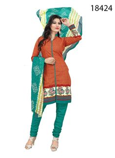 Latest #Cotton #printed #Salwar #Suit for Women Clothing in India.