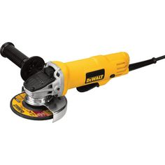 FREE SHIPPING — DEWALT 4 1/2in. Small Angle Grinder — 7.5 Amps, Paddle Switch, 12,000 RPM, Model# DWE4012