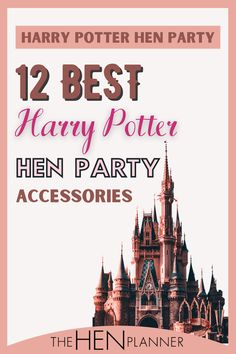 Are you a fan of Harry Potter? Surprise the bride-to-be with this fab hen party theme that she is sure to love. Harry Potter Hen Party Accessories are an absolute must for muggles and wizards alike! Everything You Need For a Harry Potter Bachelorette Party. Here are our top 12 hand-curated picks for a magic hen do. #henpartyideas #hendothemes #harrypotter