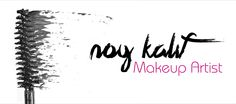 Noy Kalif - Makeup Artist Business Card
