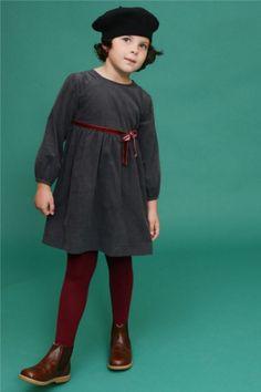 Moda infantil: A vez do veludo!