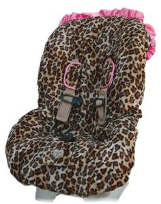 Cheetah car seat cover