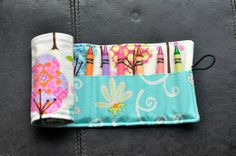 Pretty Little Things Crayon Cozy/Roll by SpoonerSistersDesign, $15.00 Little Things, Pretty Little, Sunglasses Case, Rolls, Felt, Cozy, Gift Ideas, Trending Outfits, Unique Jewelry