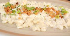A szlovákok tartalmas, krumplis galuskája, a sztrapacska nagy téli kedvenc, és egy-két trükkel otthon is tökéletes lesz. Bulgarian Recipes, Bulgarian Food, Risotto, Main Dishes, Rice, Keto, Ethnic Recipes, Main Course Dishes, Entrees