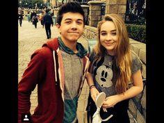 Sibrina  and Steven perry at Disney world