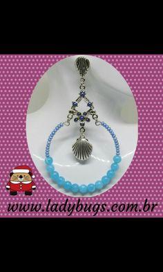 Acabou de chegar!  Peça única, tá?   Maxi Brinco Argola Concha – Azul por R$ 35,00 ❤ www.ladybugs.com.br   #acessoriosfemininos #acessorios #bijuteria #bijuterias #bijoux #visitenossaloja #bijuteriaonline #exclusividade #novidades #trendalert #moda #tendencia #lojavirtual #lojaonline #look #caraguatatuba #jundiai #saopaulo #brasil #brinco #brincos #maxibrinco #maxibrincos #brincoargola #argola #brincogrande #brincoleve #brincoconcha #amigosecreto #amigasecreta