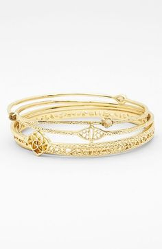 Kendra Scott 'Jordana' Bangles (Set of 5)
