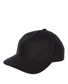 Black Knitted Cap | New Look