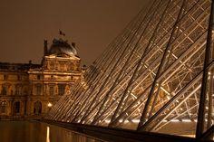 The Louvre in Paris. Photo by Darren Mahuron