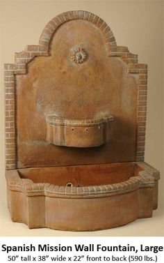 Large Outdoor Wall Fountains wall fountain | fountains | pinterest | wall fountains, fountain