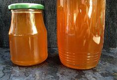 Méz bodzából recept képpel. Hozzávalók és az elkészítés részletes leírása. A méz bodzából elkészítési ideje: 75 perc Hot Sauce Bottles, Diy And Crafts, Water Bottle, Drinks, Cooking, Tableware, Food, Abstract, Creative