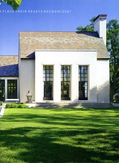 I really like the simplicity not something you see often from Architect Bobby McAlpine.