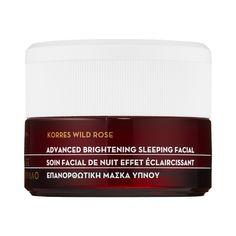 Rank & Style - Korres Wild Rose + Vitamin C Advanced Brightening Sleeping Facial #rankandstyle
