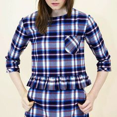 Leave it to a London-based fashion label to reinvent plaid. Designing for the girl who strives to be a little more creative in her everyday style @moddollyfashion has a mix of basics and statement pieces to spice up your wardrobe. by etsywholesale