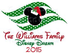 Disney Cruise Christmas Minnie Santa Mrs. by TwoByTuTuCreations