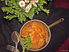 Gosia gotuje: Boczniaki a'la schabowe