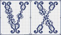 Free Easy Cross, Pattern Maker, PCStitch Charts + Free Historic Old Pattern Books: Sajou No 602
