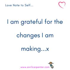 When we are grateful for the changes we are making in ourselves it gives us peace of mind ✨❣️🦋 Make Peace, Peace Of Mind, Feeling Frustrated, Hypnotherapy, I Am Grateful, Willpower, Weight Loss For Women, Love Notes, Note To Self