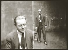These mugshots depict wonderfully dapper Australian criminals from the The photos were originally taken by photographers at the New South Wales Police Department. The photos are now archived at the Sydney Justice & Police Museum. Andre Kertesz, Old Photos, Vintage Photos, City Of Shadows, Dapper Gentleman, Gentleman Style, Museum Collection, Black And White Pictures, South Wales