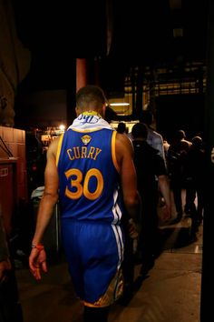 Stephen Curry of the Golden State Warriors walks off the court after being defeated b the Cleveland Cavaliers in Game 4 of the 2017 NBA Finals at...