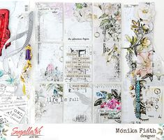 scrapbook pocket letters Pocket Letters, Journaling, Embellishments, Notebook, Scrapbook, Lettering, Design, Ornaments, Caro Diario