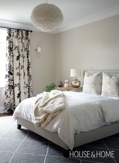 Designer Jenna Cadieux goes into detail about decorating three sophisticated bedrooms. | Photographer: Jason Stickley