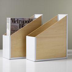 Portola Magazine File contemporary desk accessories