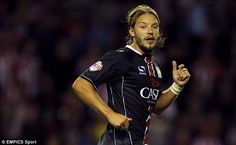 In action: Alan Smith opted to move to Notts County rather than a swtitch to the MLS