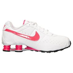 NEW NIKE SHOX CL CLASSIC Womens 8.5 (7Y) White Cherry Leather Limited NIB #Nike #Athletic