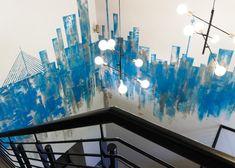 158 JAN SMUTS – Schematic Design Schematic Design, Ground Floor, Wall Murals, Pendant Lighting, Design Elements, Signage, Entrance, Modern, Projects