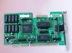 Trident TVGA8900C 8916CX2/4/8 ISA Video Card Trident, Video Card, Cards, Maps, Playing Cards