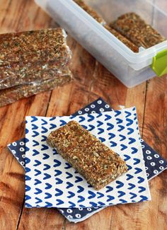 Alton Brown's Seedy Date Bar Recipe: Seldom do so many super-foods come together in a recipe you would actually want to eat.