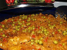 Arroz con Pollo a la Chorrera (Chicken and Rice Chorrera Style)  www.hispanickitchen.com