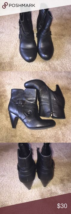 Lane Bryant ankle boots.  Low heel. Lane Bryant ankle boots.  Low heel.  Great condition wide width Lane Bryant Shoes Ankle Boots & Booties
