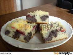 Rýchly makový koláč No Bake Desserts, Cheesecake, Muffin, Food And Drink, Baking, Eat, Breakfast, Recipes, Cakes