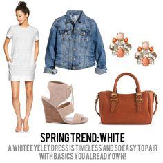 spring trends 2014: white!