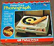 Fisher-Price Phonograph (1979-1989) [This Old Toy] - Spent many happy hours listening to records in my room with this.