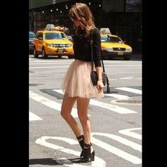 NEW BEBE Skirt NEW BEBE Champagne Skirt with Metal Studs. Trade Value: $65 bebe Skirts Midi