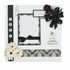 Wedding Scrapbook Page, large