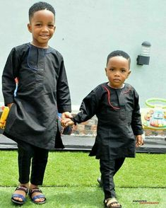 Agbada Styles For Children 2017 2018 ⋆ Ankara Styles For Kids, African Dresses For Kids, African Babies, African Children, African Inspired Fashion, African Print Fashion, African Fashion Dresses, African Outfits, African Attire