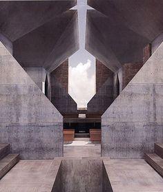 Louis Kahn. Hurva Synagogue. Unbuilt (