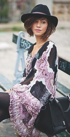 Romantic Hippie Midi Dress: