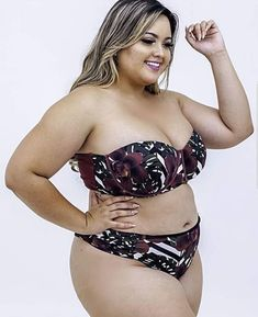 Plus Size Womens Clothing, Clothes For Women, Chubby Ladies, Curvy Plus Size, Plus Size Swimsuits, Curvy Girl Fashion, Bikinis, Swimwear, Moda Plus