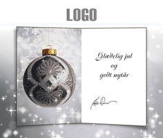 ekortet.dk leverer danmarks flotteste elektroniske julekort til virksomheder.På billedet: Julekort med logo. Julepynt. Juletræskugle.Ekort, e-kort, e-julekort, ejulekort, elektroniske julekort, ecard, e-card, firmajulekort, firma julekort, erhvervsjulekort, julekort til erhverv, julekort med logo, velgørenhedsjulekort, julekort