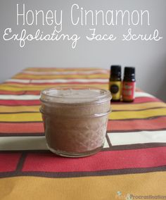 Honey Cinnamon Face Exfoliator/ Scrub this site has lots of other great diy r Face Scrub Recipe Diy Face Scrub, Face Scrub Homemade, Diy Scrub, Homemade Skin Care, Homemade Beauty Products, Homemade Facials, Diy Products, Beauty Hacks For Teens, Exfoliating Scrub